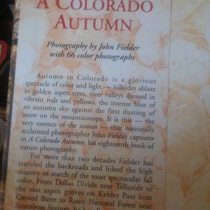 Accents - Coffee Table Book Colorado Autumn